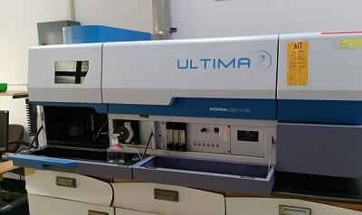 感應耦合電漿放光光譜儀(Inductively coupled plasma, ICP)