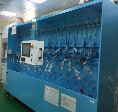 無機汙染物溶出性能試驗自動化調節與浸漬設備